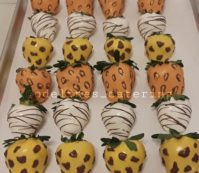 Safari Themed Strawberries