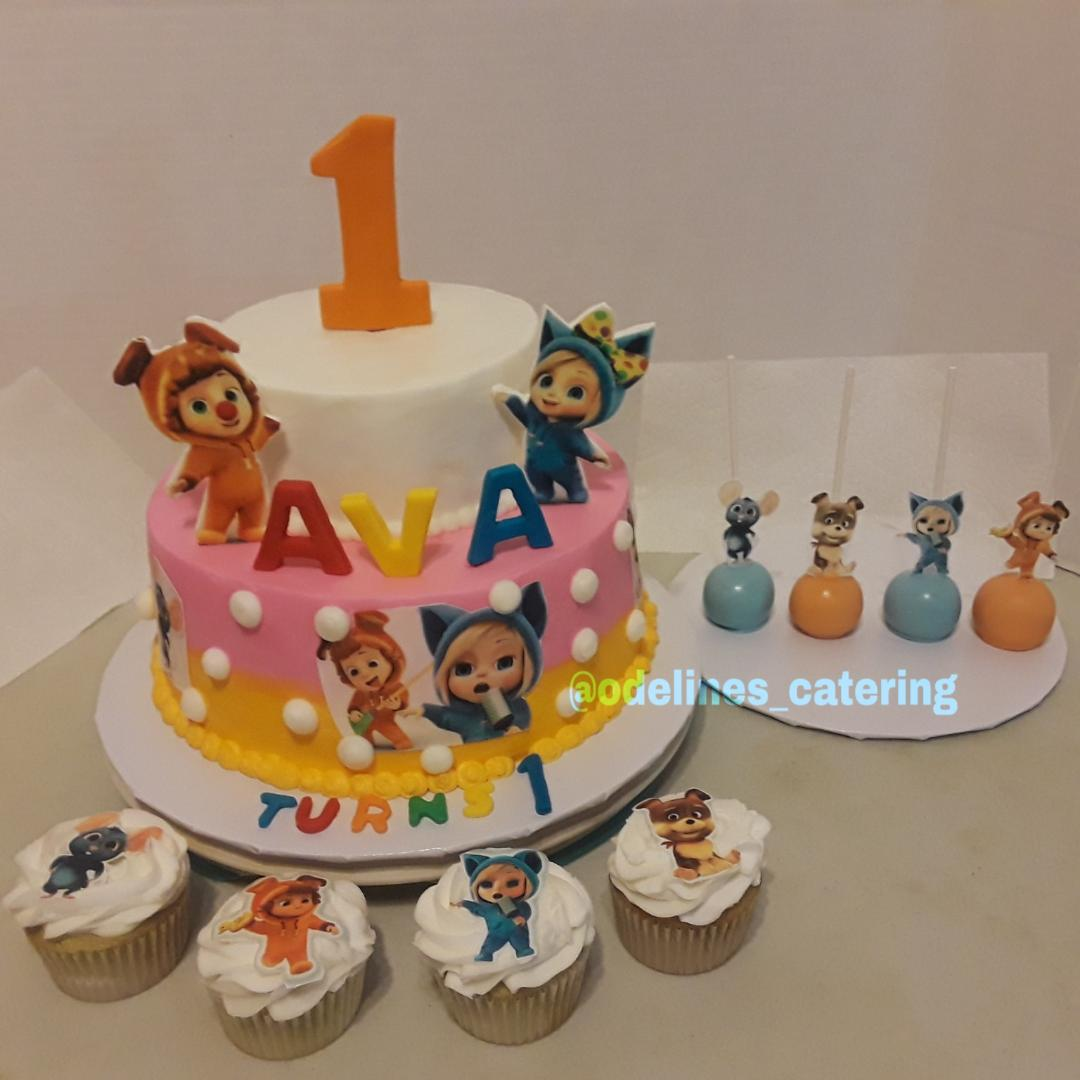 First Birthday Cakes